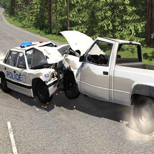 BeamNG La policía persigue