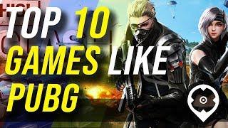 10 mejores juegos como PUBG
