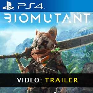 Video del tráiler de Biomutant