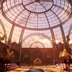 BioShock Infinite Clash in the Clouds DLC - El museo