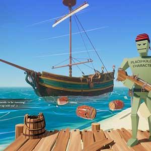Vigilar al enemigo en la orilla