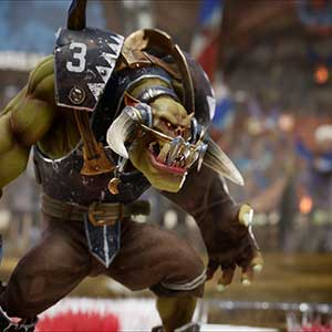 Blood Bowl 3 Orco Negro