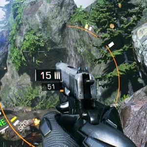 Bright Memory interfaz del juego