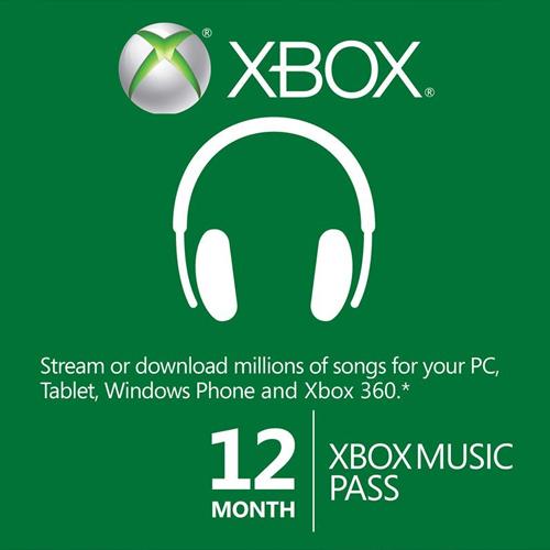 Comprar 12 Mes Xbox Music Pass Xbox One Code Comparar Precios