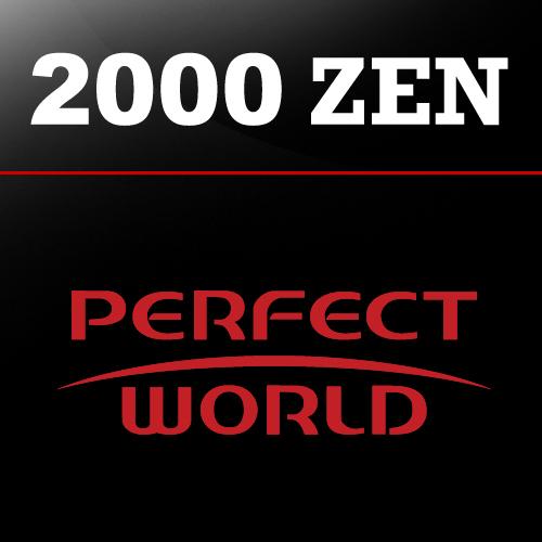 Comprar 2000 Perfect World ZEN Tarjeta Prepago Comparar Precios