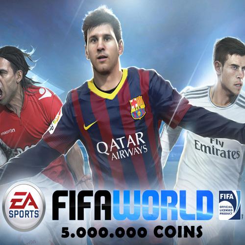 Comprar 5.000.000 FIFA World Coins Tarjeta Prepago Comparar Precios