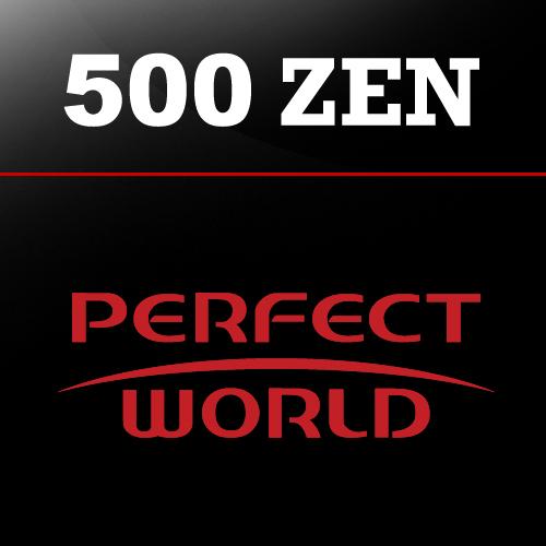 Comprar 500 Perfect World ZEN Tarjeta Prepago Comparar Precios
