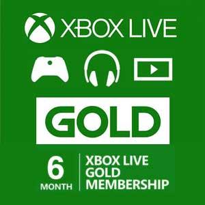 Comprar 6 Meses Gold Xbox Live Code Comparar Precios