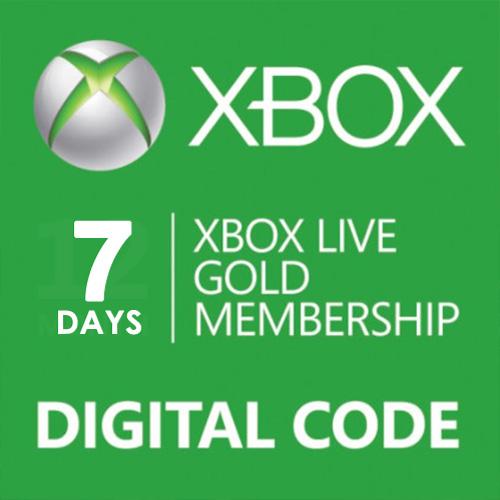 Comprar 7 Dias Gold Subscription Card Xbox Live Code Comparar Precios