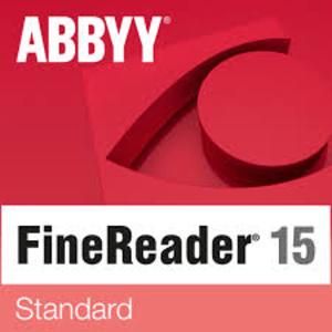 ABBYY FineReader 15 Standard Upgrade