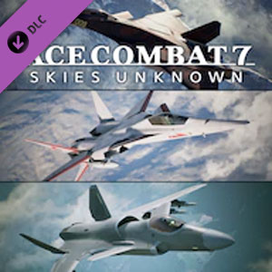ACE COMBAT 7 SKIES UNKNOWN 25th Anniversary DLC Original Aircraft Series Set