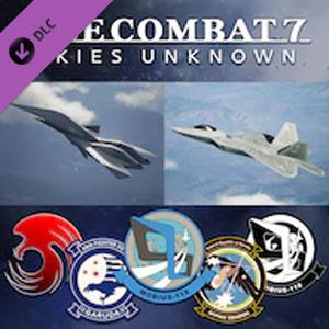 ACE COMBAT 7 SKIES UNKNOWN ADF-11F Raven Set