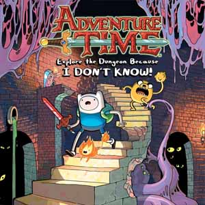 Comprar Adventure Time Explore the Dungeon Because I DONT KNOW Nintendo Wii U Descargar Código Comparar precios