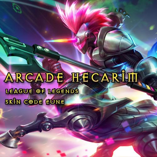 Comprar Arcade Hecarim League Of Legends Skin EUNE Tarjeta Prepago Comparar Precios
