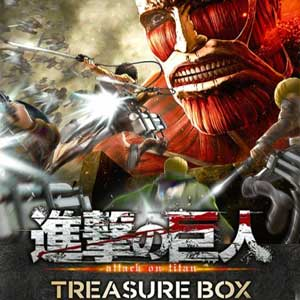 Comprar Attack on Titan Treasure Box PS4 Code Comparar Precios