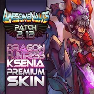 Awesomenauts Dragon Huntress Ksenia Skin