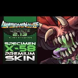 Comprar Awesomenauts Specimen X-58 Skin CD Key Comparar Precios