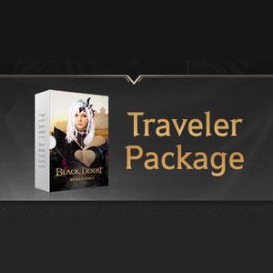 Black Desert Traveler to Explorer Package
