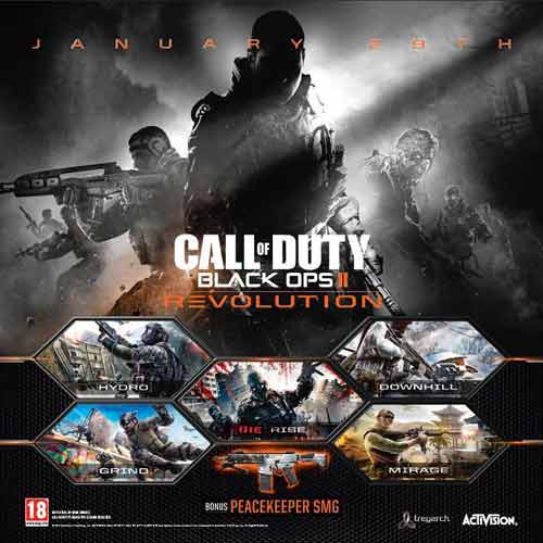 Descargar COD Black Ops 2 dlc Revolution - key Steam
