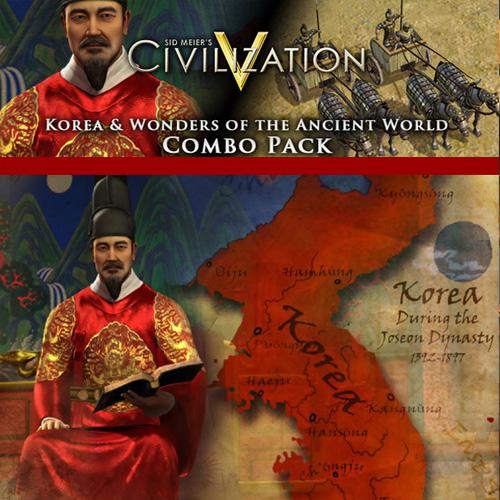 Comprar Civilization 5 Korea and Wonders of the Ancient World Combo Pack CD Key Comparar Precios