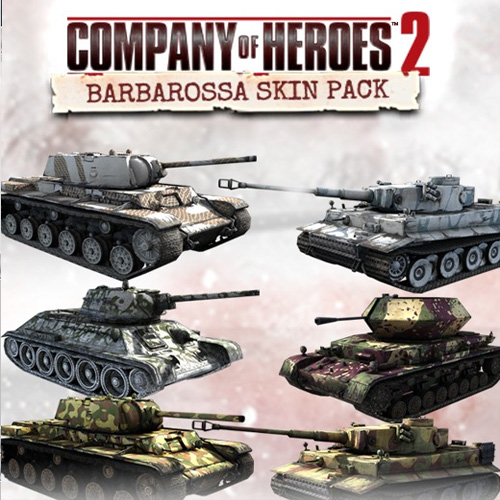 Comprar Company of Heroes 2 Barbarossa Skin Pack CD Key Comparar Precios