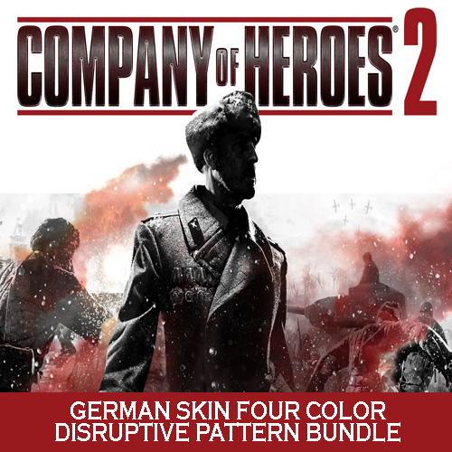 Comprar Company of Heroes 2 German Skin Four Color Disruptive Pattern Bundle CD Key Comparar Precios