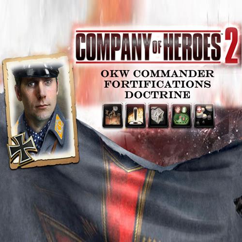 Comprar Company Of Heroes 2 OKW Commander Fortifications Doctrine CD Key Comparar Precios