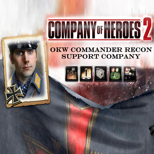 Comprar Company Of Heroes 2 OKW Commander Recon Support Company CD Key Comparar Precios