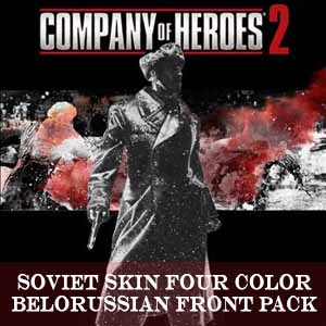 Comprar Company of Heroes 2 Soviet Skin Four Color Belorussian Front Pack CD Key Comparar Precios