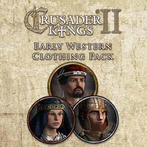Comprar Crusader Kings 2 Early Western Clothing Pack CD Key Comparar Precios