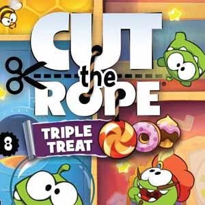 Comprar Cut the Rope Triple Treat Nintendo 3DS Descargar Código Comparar precios