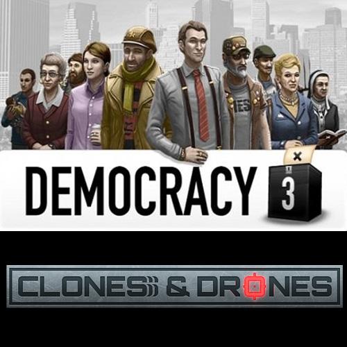 Democracy 3 Clones and Drones