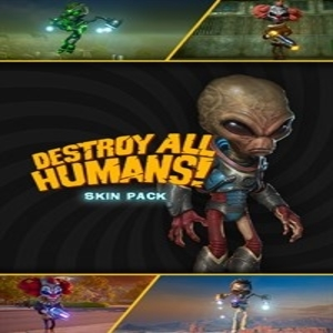 Destroy All Humans Skin Pack