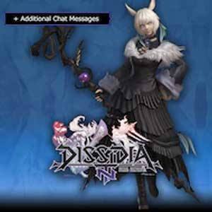 DFF NT Scion Sorceress's Robe App Set & 5th Weapon for Y'shtola