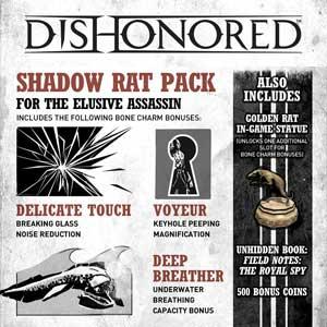Comprar Dishonored Shadow Rat Pack CD Key Comparar Precios