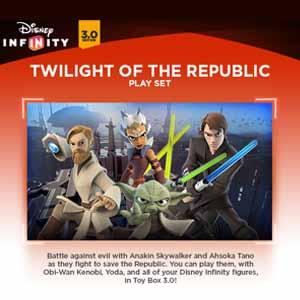 Comprar Disney Infinity 3.0 Twilight of the Republic Play Set CD Key Comparar Precios