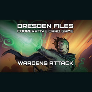 Dresden Files Cooperative Card Game Wardens Attack
