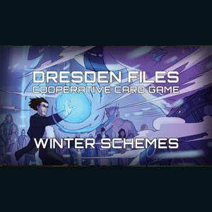 Dresden Files Cooperative Card Game Winter Schemes