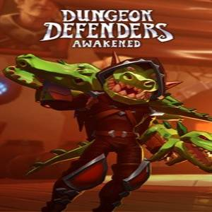 Dungeon Defenders Awakened Gator Gear Weapons and Accessories