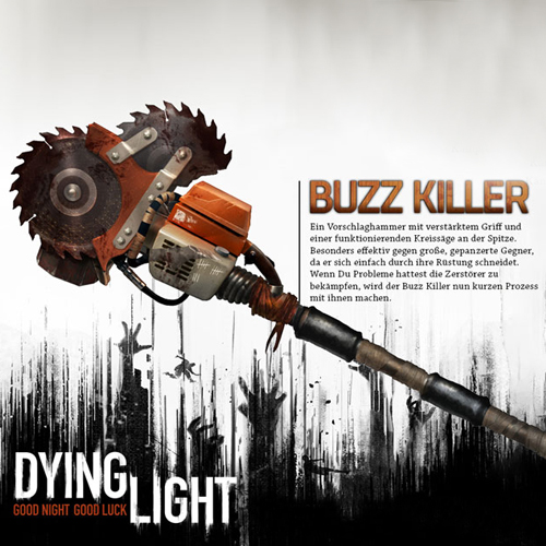 Comprar Dying Light Buzz Killer Weapon Pack CD Key Comparar Precios