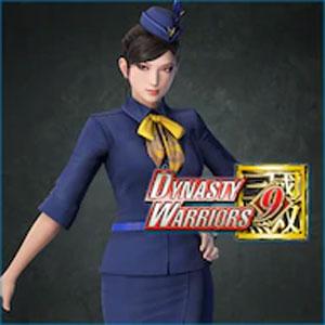 DYNASTY WARRIORS 9 Zhenji Flight Attendant Costume