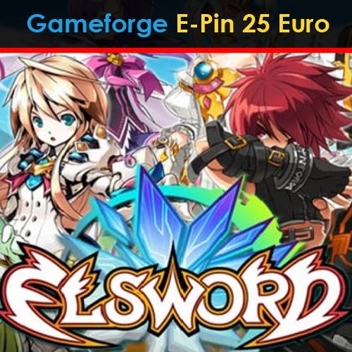 Comprar Elsword Gameforge E-Pin 25 Euro Tarjeta Prepago Comparar Precios