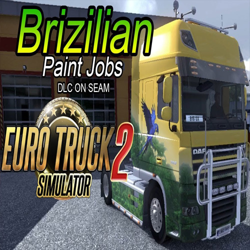 Comprar Euro Truck Simulator 2 Brazilian Paint Jobs Pack CD Key Comparar Precios
