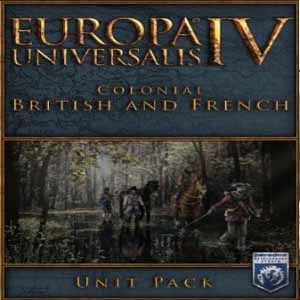 Comprar Europa Universalis 4 Colonial British and French Unit Pack CD Key Comparar Precios