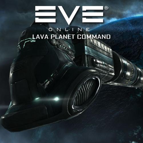 Eve Online Lava Planet Command