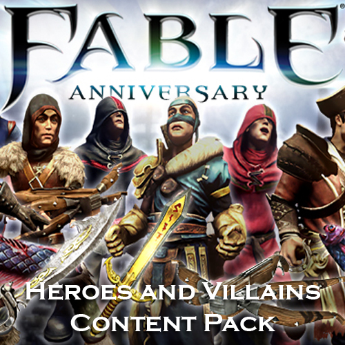 Comprar Fable Anniversary Heroes and Villains Content Pack CD Key Comparar Precios