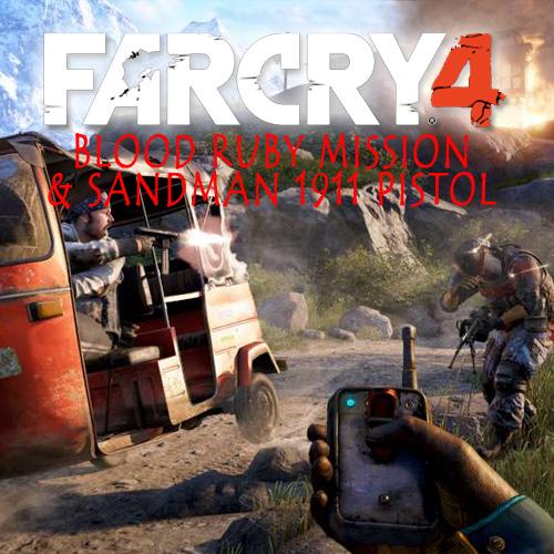 Comprar Far Cry 4 Blood Ruby Mission & Sandman 1911 Pistol CD Key Comparar Precios