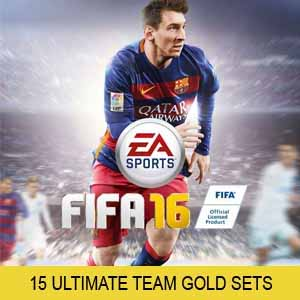 Comprar FIFA 16 15 Ultimate Team Gold Sets Xbox 360 Code Comparar Precios