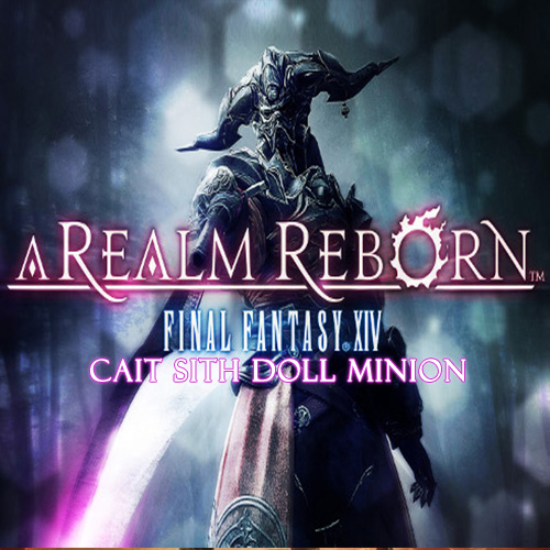 Comprar Final Fantasy 14 A Realm Reborn EU Cait Sith Doll Minion CD Key Comparar Precios