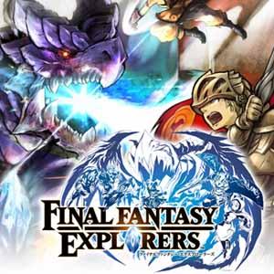 Comprar Final Fantasy Explorers Nintendo 3DS Descargar Código Comparar precios